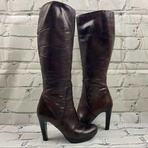 Arnold Churgin heeled lined boots